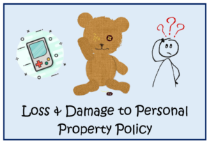Loss & Damage to Personal Property Policy