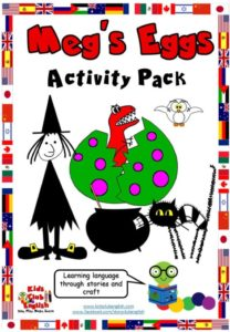 Meg's Eggs Activity Pack