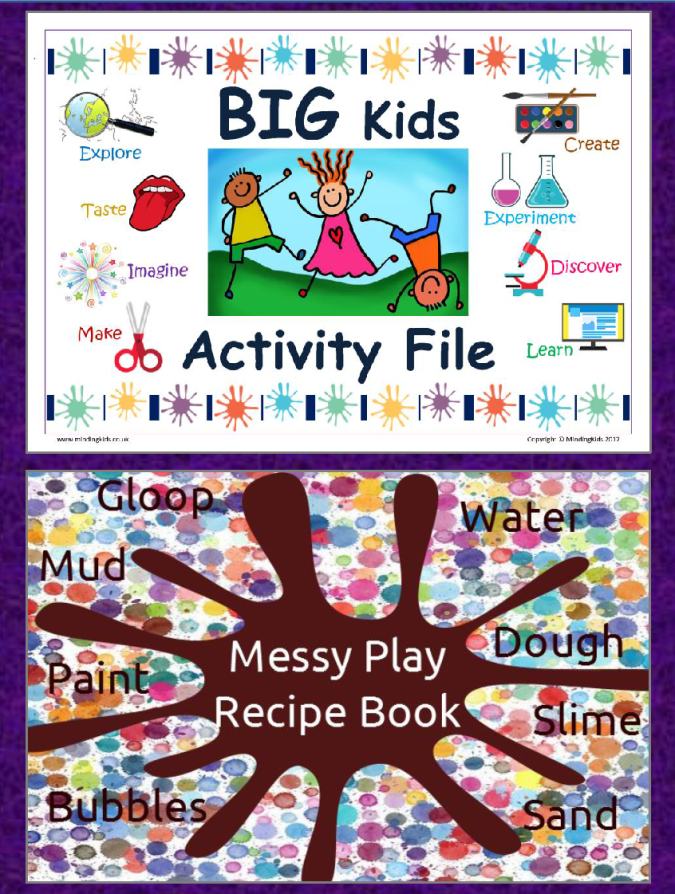 Big Kids Messy Play