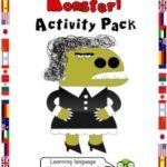 My Teacher is a Monster Activity Pack