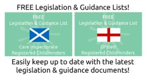 Legislation & Guidance Lists