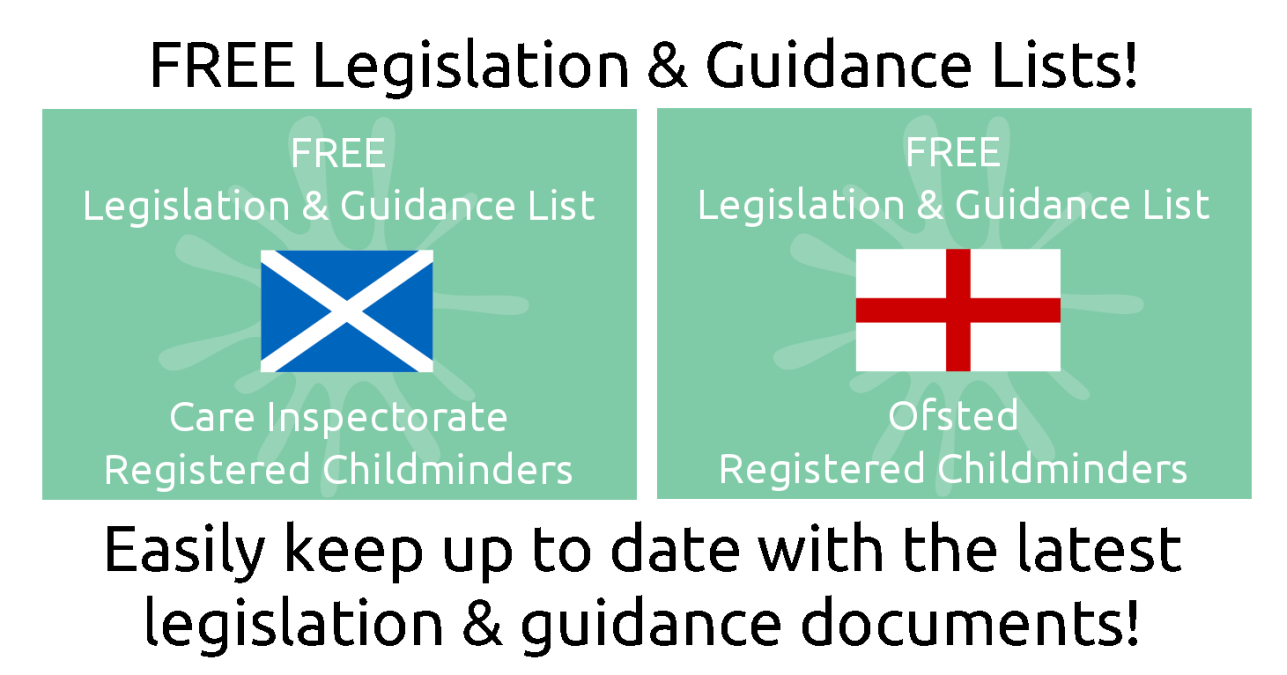 Legislation & Guidance Lists