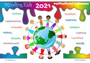 2021 Multicultural Calendar