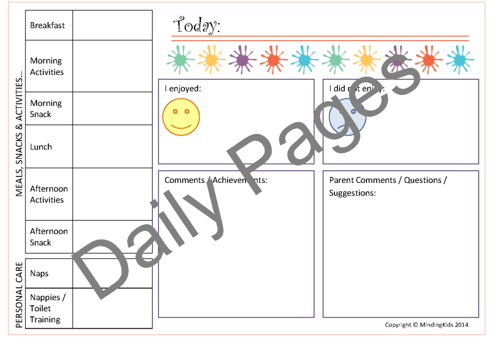 daily planner template 2014 download