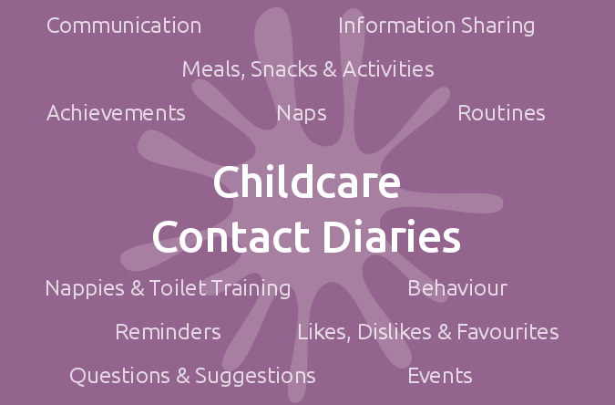 Childcare Contact Diaries