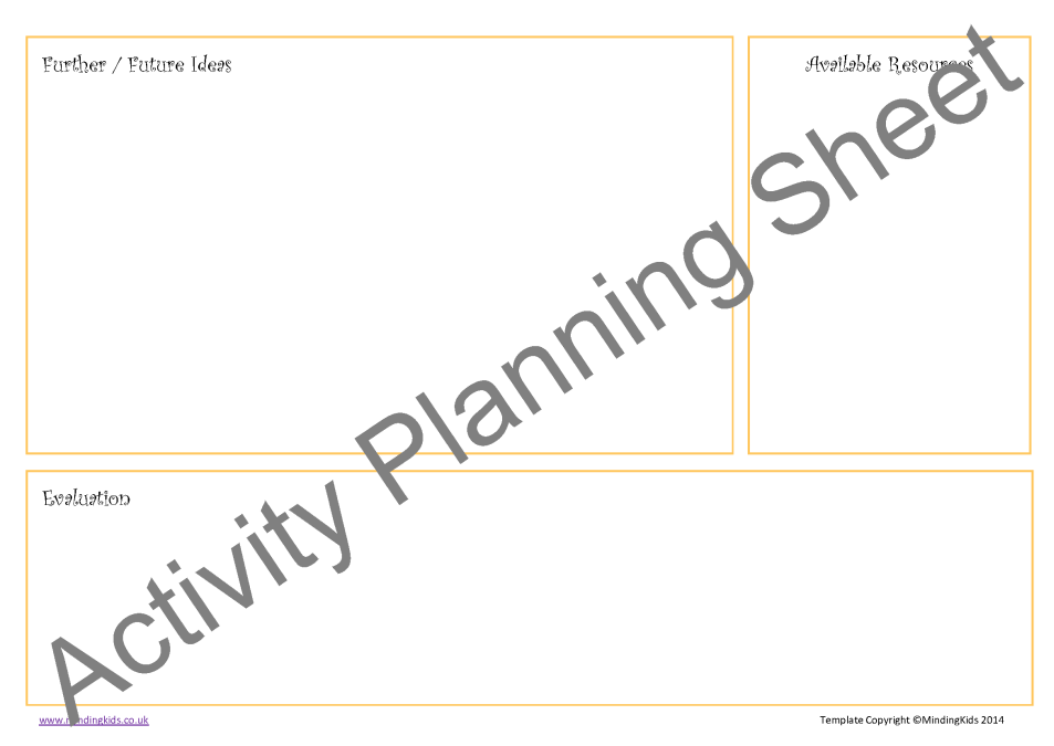 lesson plan forms