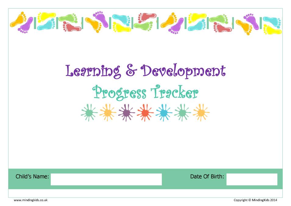 scottish learning development progress tracker mindingkids