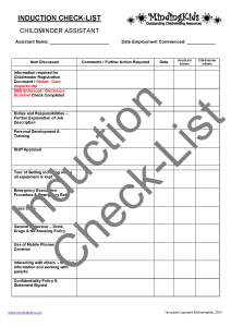 Induction Check-List_Page_1