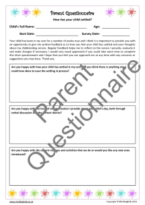 Parent Questionnaire - Settling in_Page_1