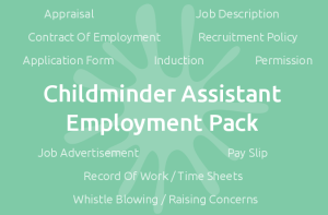 Childminder Assistant Employment Pack