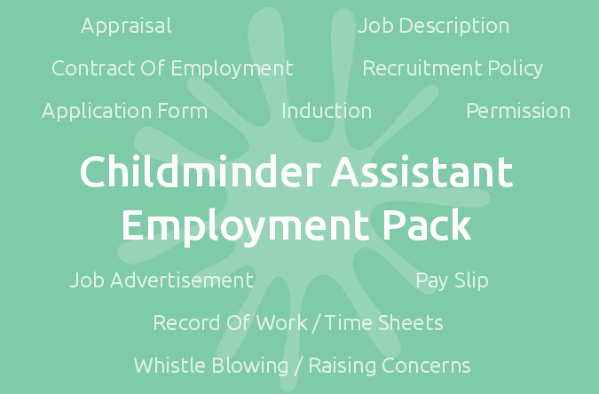 Childminder Assistant Employment Pack