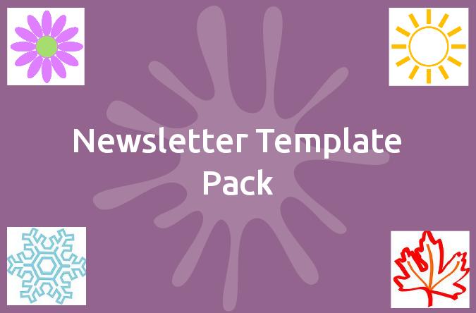 newsletter template pack mindingkids