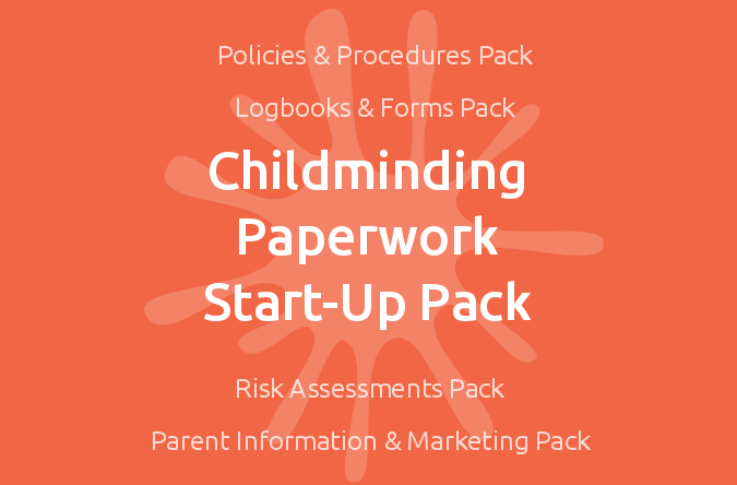 mindingkids - outstanding childminding resources, Invoice examples