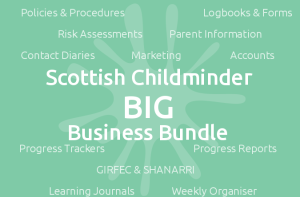 Scottish Childminder BIG Business Bundle