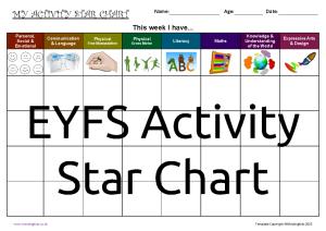 Activity Star Chart_EYFS2