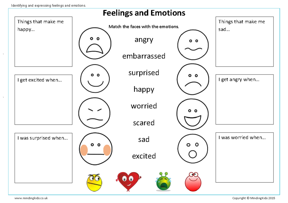 Worksheet Feelings And Emotions Worksheets Pdf ready for school workbook mindingkids hello my name is feelings emotions