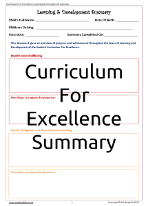 Learning & Development Summary (Scot Curriculum)_Page_1