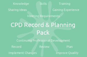 CPD Record & Planning Pack