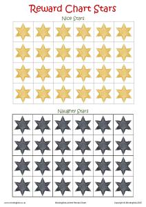 Reward Chart Stars