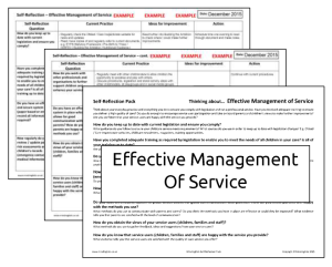 IMAGE_ Effective Management of Service