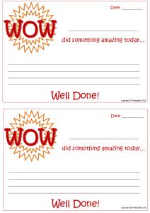 WOW certificate
