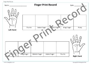 Finger Print Record