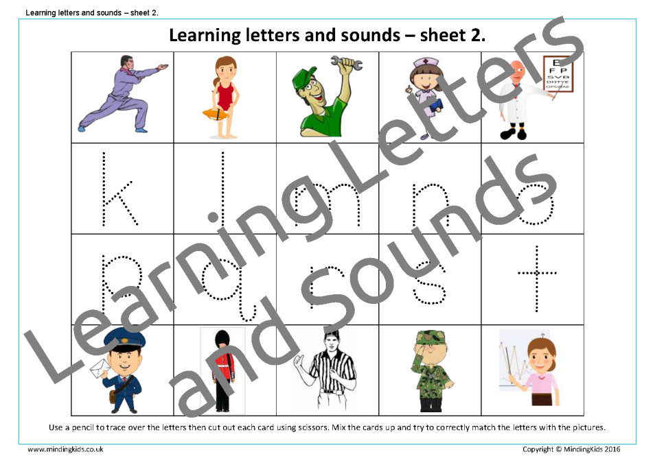 Worksheets For Learning Support : People who help us activity pack mindingkids