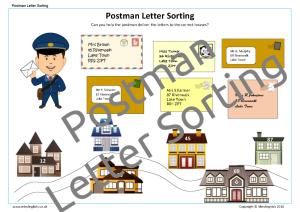 Postman Letter Sorting