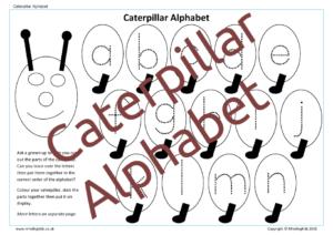 Catterpillar Alphabet