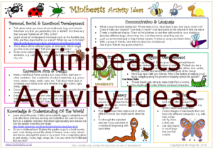 Minibeasts Activity Ideas