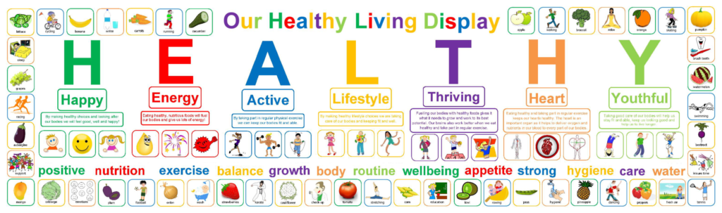 Healthy Living Display