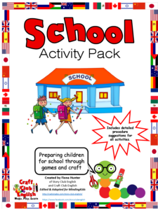 School activity pack