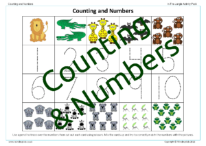 Counting & Numbers