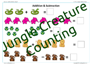 Jungle Creature Counting
