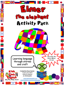Elmer the elephant Activity Pack