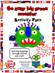 Go away big green monster Activity Pack
