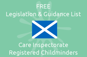 Free Legislation & Guidance List - Care Inspectorate