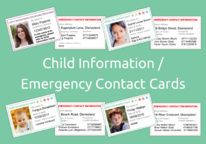 Child Information / Emergency Cards