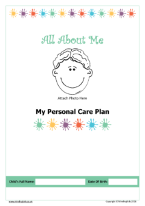 Care Plan cover boy