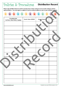 Distribution Record