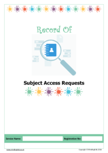 Subject Access Request Cover