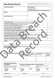 Data Breach Record