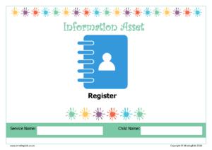 Information Asset Register Cover