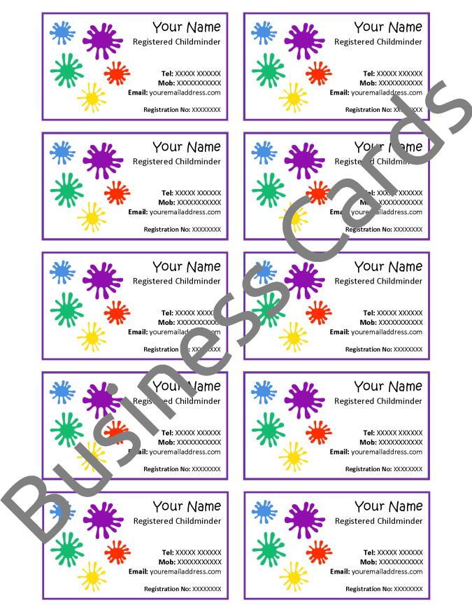 Parent Information & Marketing Pack - MindingKids