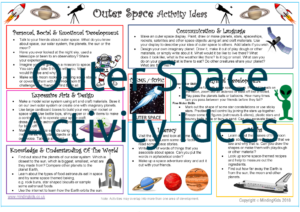 Outer Space Activity Ideas