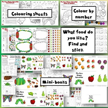 The Very Hungry Caterpillar Activity Pack - MindingKids
