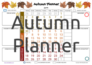 Autumn Planner