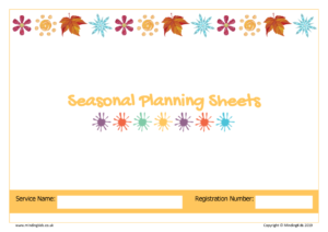 Seasonal Planning Sheets Cover