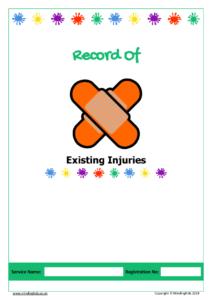 Existing Injuries