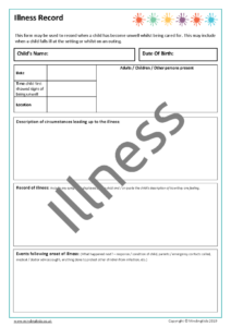 Illness Record